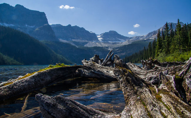 Beauty In Nature Boom Lake Day Kanada Mountain Nature No People Outdoors Scenics Voyage Water