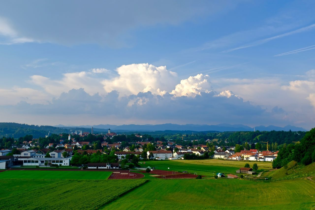 Cloud - Sky Landscape My Hometown Nature Outdoors Scenics Sky Thunderstorm Tranquil Scene