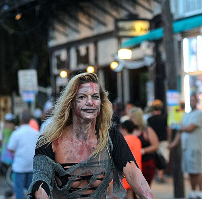 Zombie Bike Ride People Photography Key West At Night Key West Zombies  Zombie Duval Street Zombie Apocalypse Streets Of Key West People Watching Fantasy Streetphotography