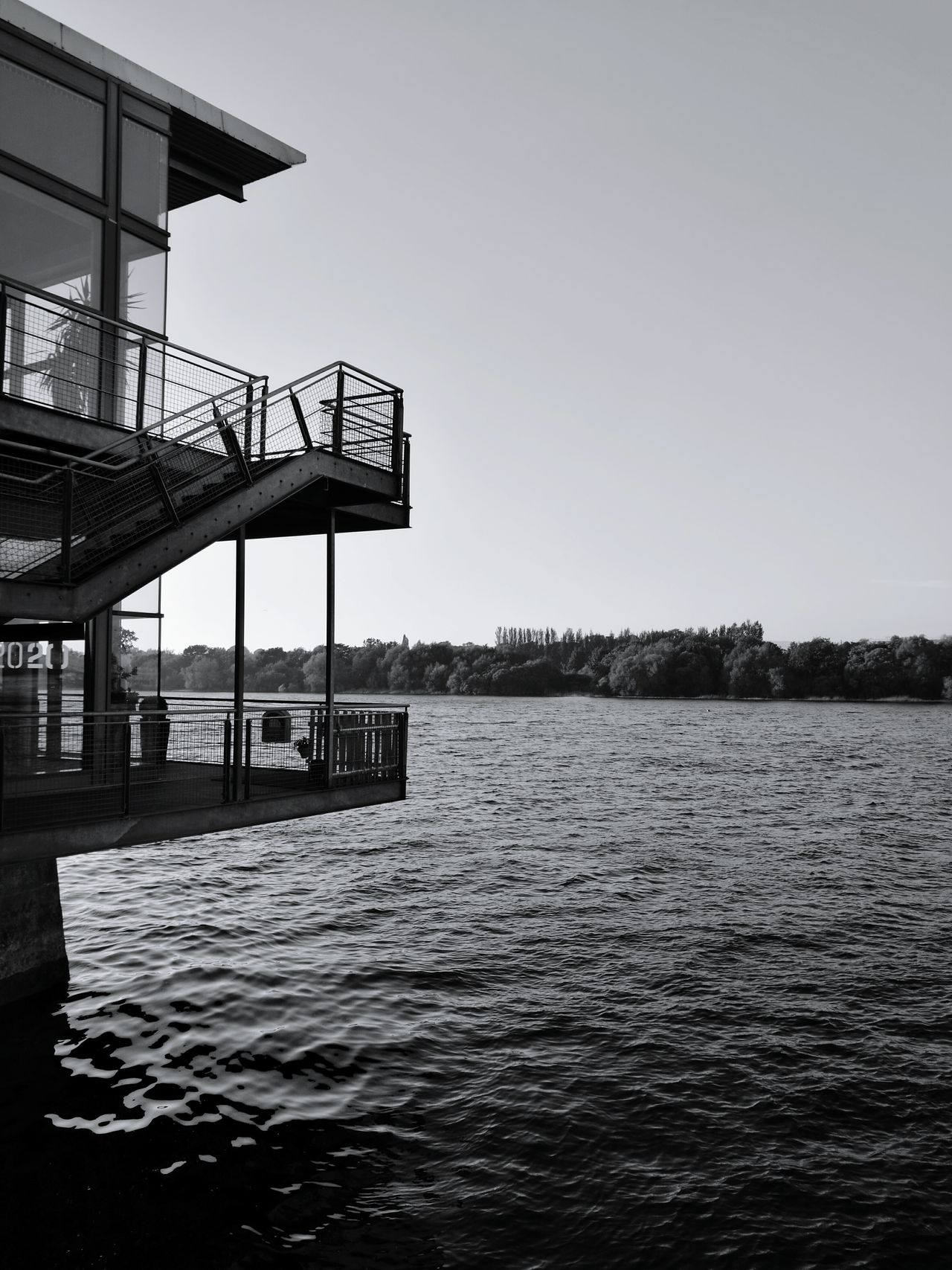 Riverside Water Sky City Nature Outdoors Bridge - Man Made Structure Photography HuaweiP9 Huaweiphotography Explore Travel Travel Photography Blackandwhite Structures Built Structure Ireland Architecture Limerick City Limerick Ireland Home Shannon River Discoverireland Limerick2030 Proud Balcony