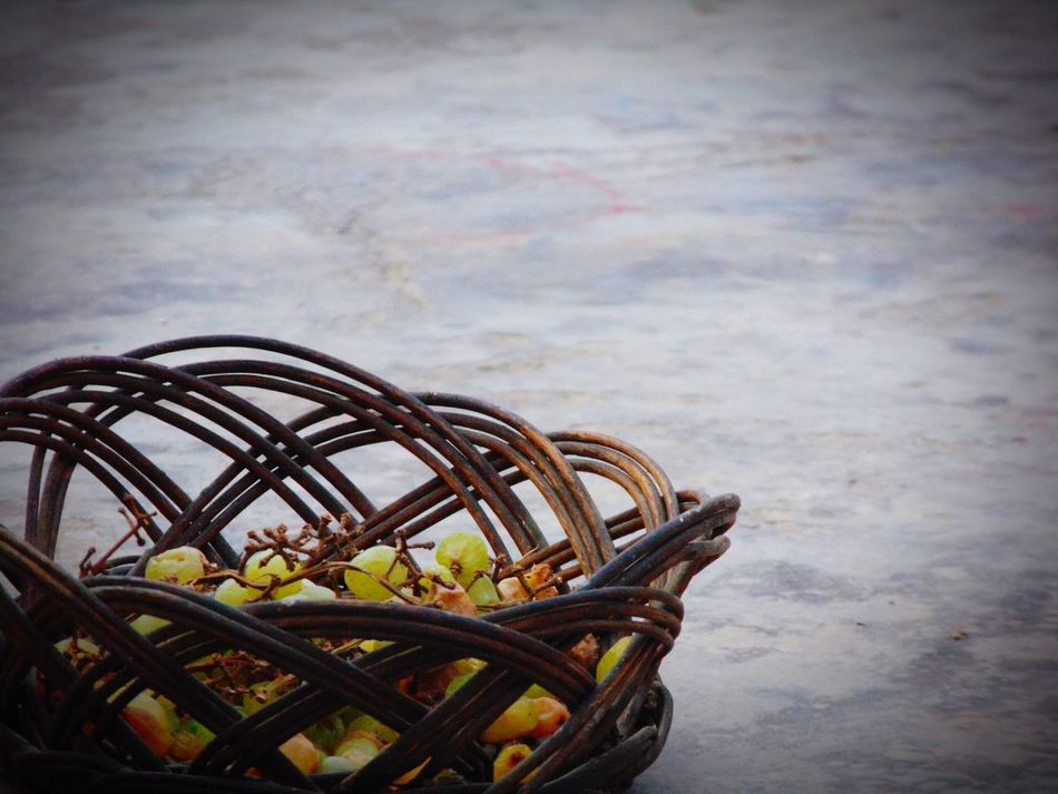 No People Outdoors Day Nature Wooden Basket Grapes 🍇 One Object