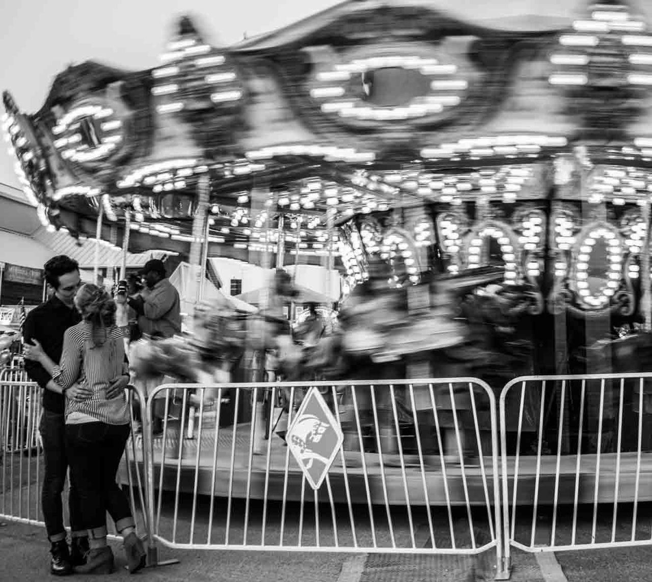Blackandwhite Carousel Love Eye4photography