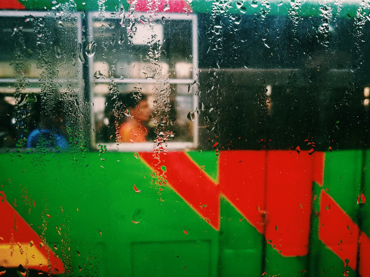 The Street Photographer - 2017 EyeEm Awards Window Rain Capture The Moment The Human Condition Your Design Story Eyeem Philippines EyeEm Best Shots Telling Stories Differently Street Photography Everyday People EyeEm Street Street In Color