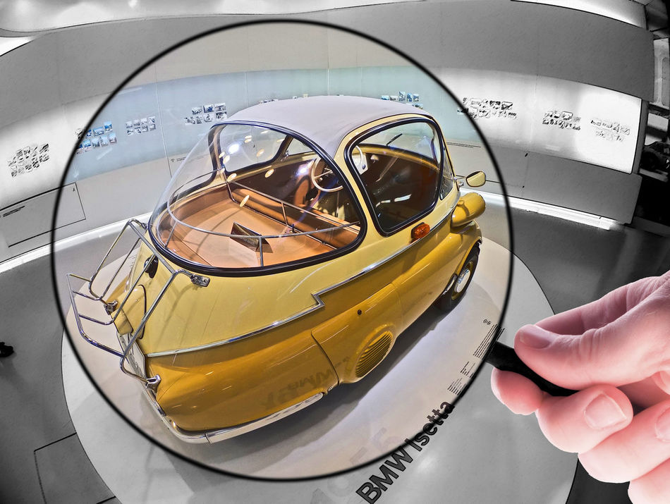 Bmw BMW Isetta Bmw Museum Isetta Legendarycar Magnifier Munich