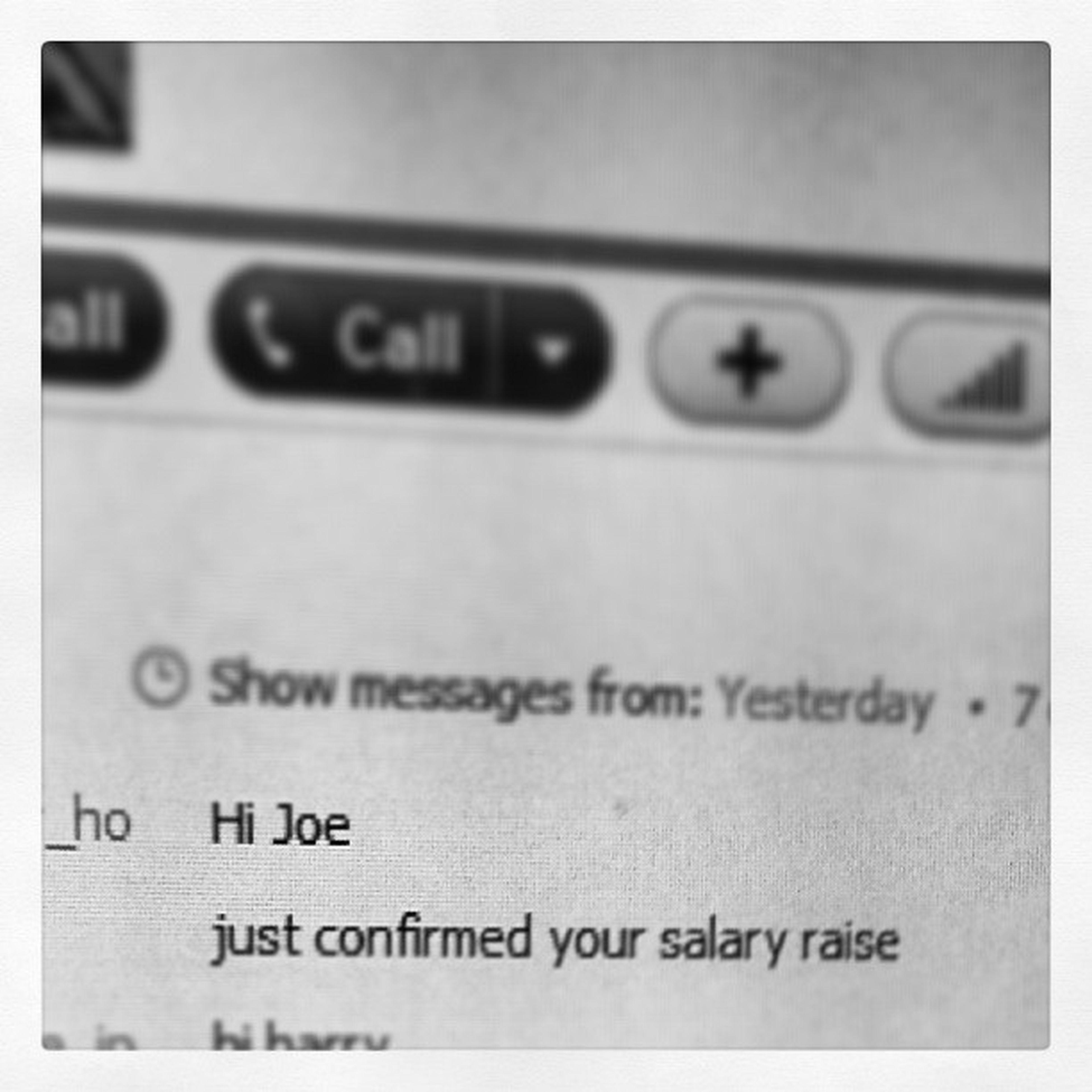 best message i recieved all day. Eopcreamteam Eop . Hustle Work