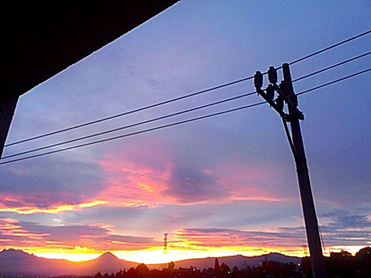 Ventajas De Ser Mañanera. Sunset #sun #clouds #skylovers #sky #nature #beautifulinnature #naturalbeauty Photography Landscape