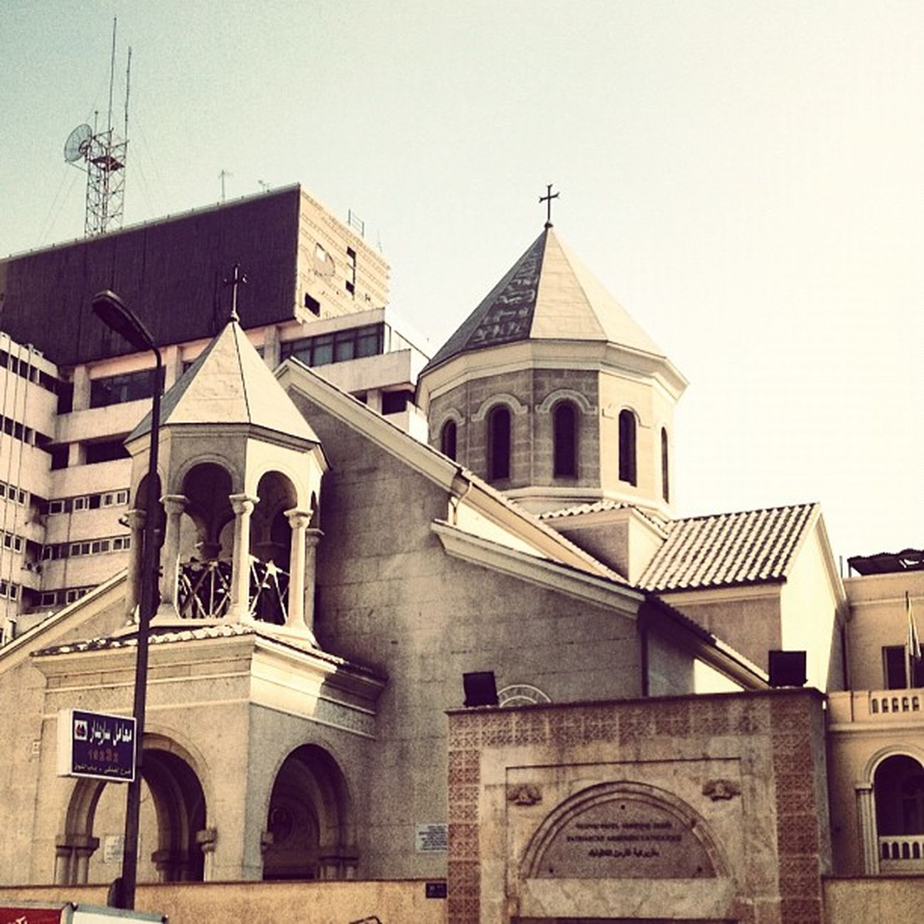 Armenian Catholic Patriarchate and the Church of the Assumption is one of only 2 Armenian Catholic churches in Greater Cairo (other in Heliopolis), and one of only 3 in all of the Egypt Q8 Follow Me TBT  Sun Bestoftheday Beautiful Igers Sky UAE Love Jj  Bahrain Tweegram KSA Instagood Egypt Instagramhub Kuwait Webstagram Oman Instadaily Photooftheday Tagsforlikes Iphonesia Magicalarabia Qatar Keepingcairo Picoftheday Belovedegypt