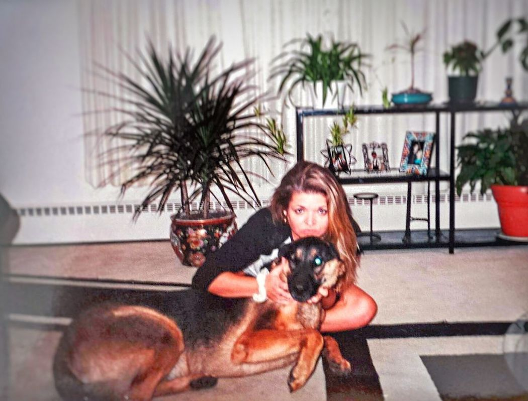 Please forgive the poor quality. Taken over 15 years ago. My very first Germanshepherd Rex. That's Me , he is greatly missed. 😢 Check This Out Ilovemydog German Shepherd GSD Feeling Thankful Blastfromthepast Memories Blessed