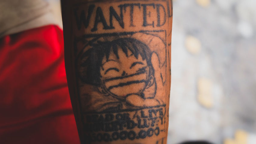 Tattoo One Person Close-up Onepiecefan Monkydluffy Fujifilm_xseries