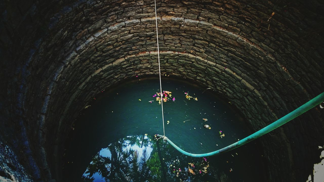 The Secret Spaces Water Architecture No People Well  Deep Waterinside
