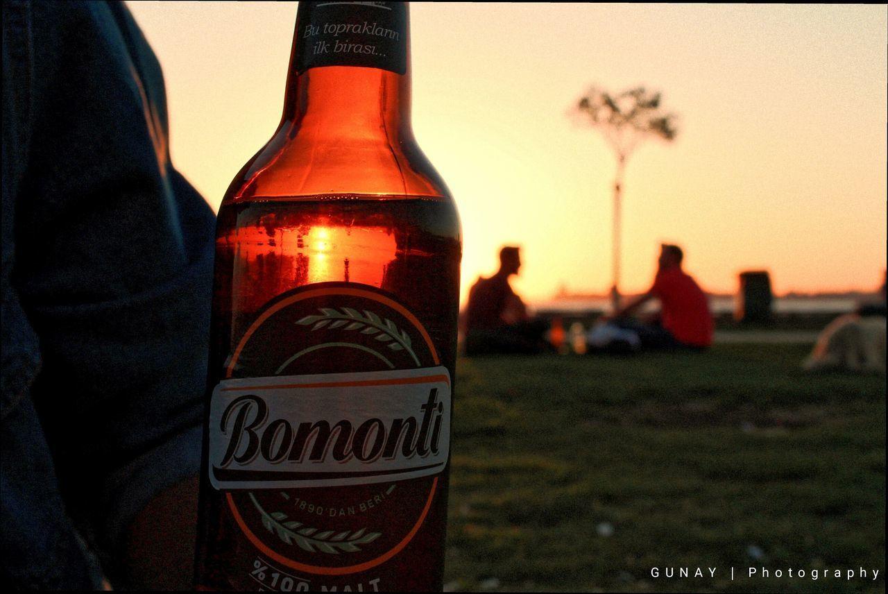 Bottle Sunset Close-up Outdoors Sky No People Day Bomonti Turkey Orange Color Kadrajturkiye Izmirdeyasam Izmirlife Turkeyphotooftheday Kadrajımdanyansıyanlar Alsancak Kordon