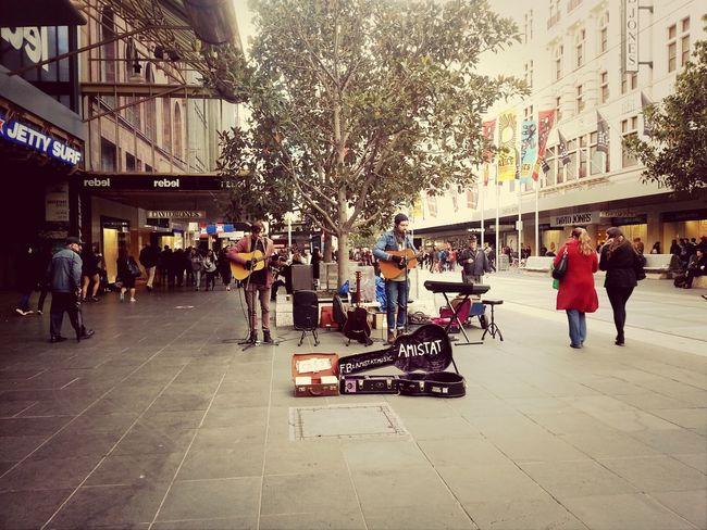 Friday 27th June 2014. Amistat Melbourne Street Music Bourke St - Melbourne