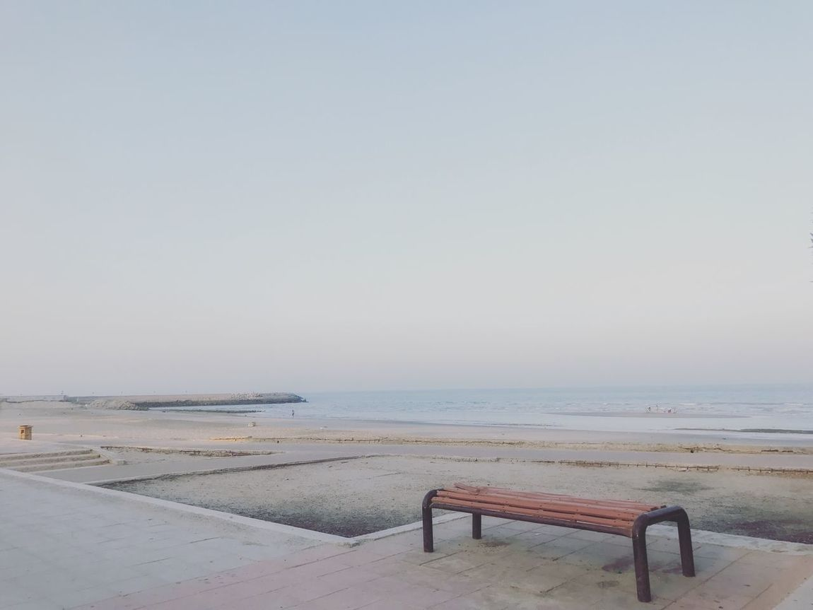 Your Ticket To Europe Kuwait summer beach Sea Beach Water Horizon Over Water Nature Clear Sky Tranquility Sand Scenics Beauty In Nature Sky Outdoors No People Day