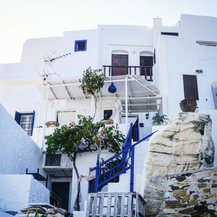 Sifnos Sifnos, Greece  Sifnos Island Kastro Kyklades Islands Greece Greek Islands Greek Summer White And Blue White Houses Greek Architecture Island Life Island Architecture Picturesque Like A Postcard Postcards Like A Fairy Tale Stairs Outdoors Summertime