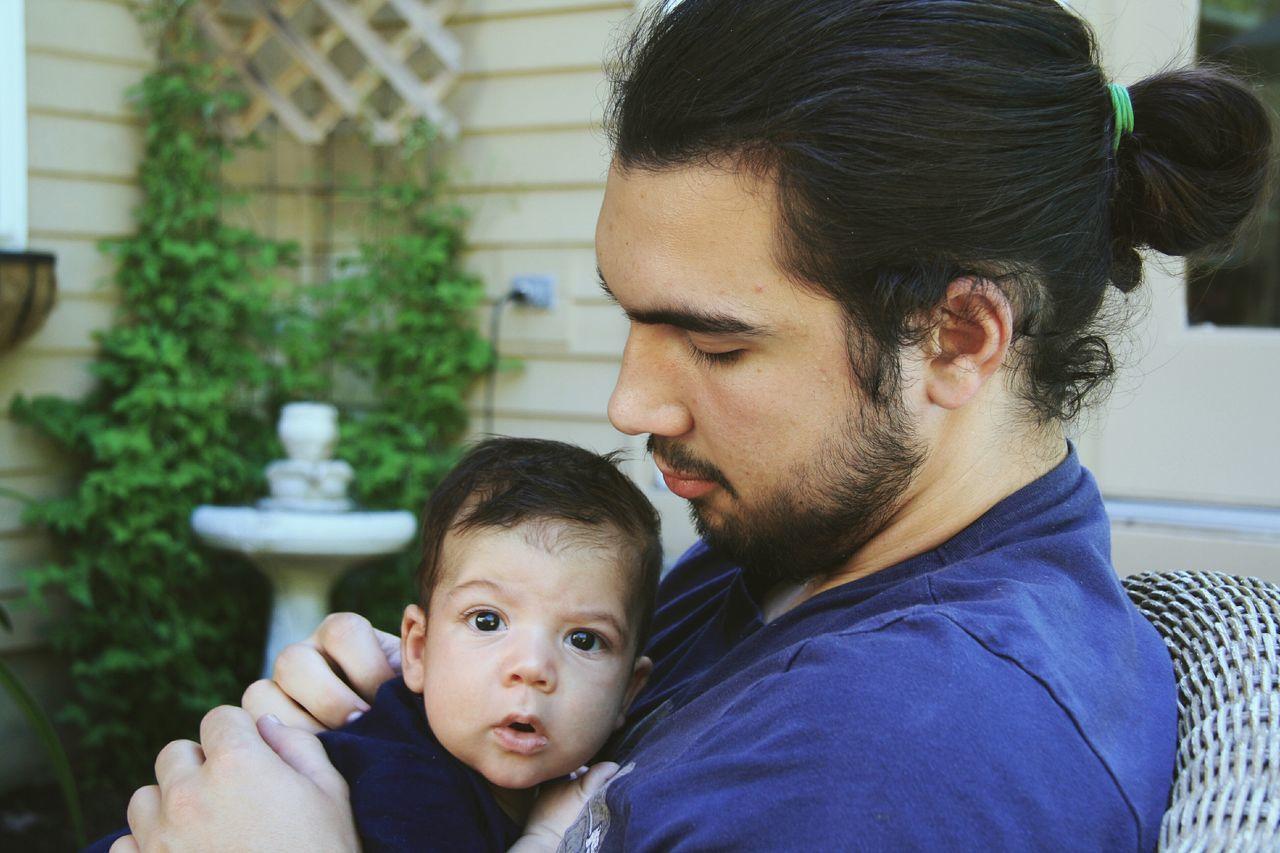 Modern Father Portrait