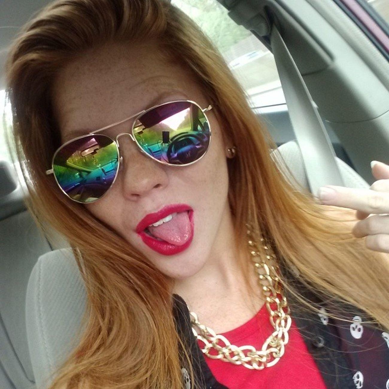 Hippiegirl Itsagoodday Lovemyglasses Fckyouplaya goodbyehata breaktime
