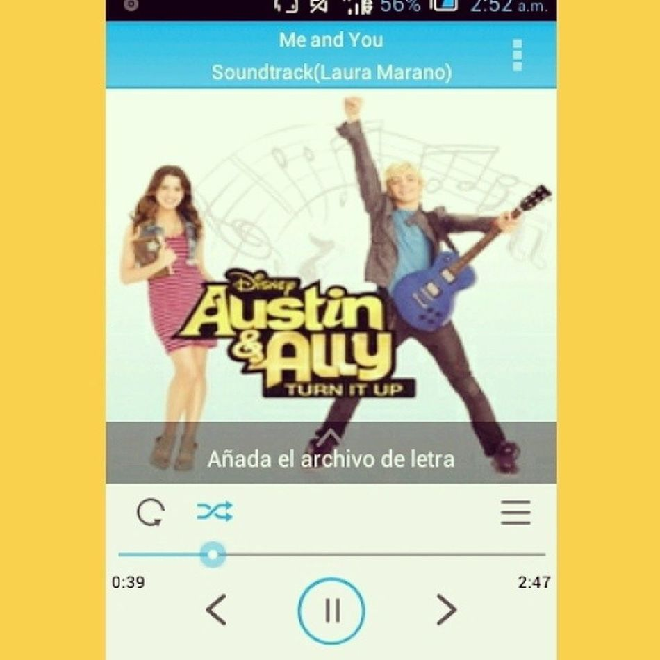 This song is perfect(': Rosslynch Lauramarano AustinAndAlly Raura MeAndYou <3