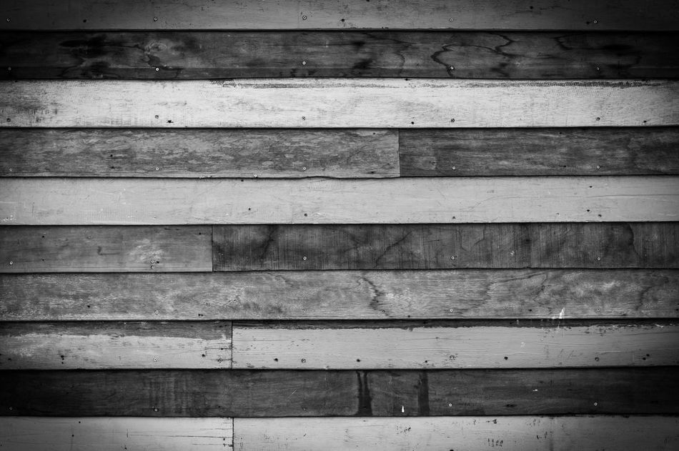 Black and white wooden board wallpaper Wood - Material Wood Backgrounds Pattern Full Frame No People Architecture Board Textured  Textures And Surfaces Old Wall Design Rough Timber Textured  Vintage Lumber Carpenter