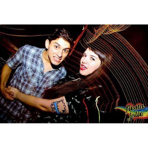 FiestaJolie Jolie Girl Boy Party Friends Elbrazomasgordodelmundo Ahlistoquecosadeebrios Bestfriends Love Me Night