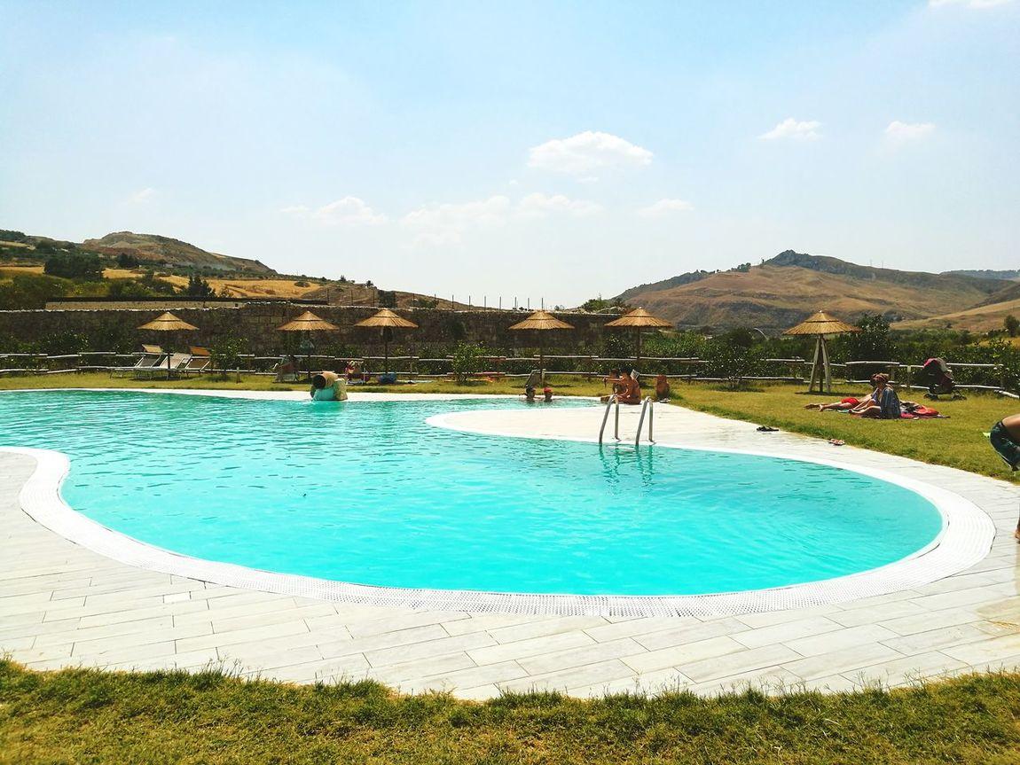 Sicily Casteltermini Sicilia_super_pics Siciliabedda Sky Clear Sky Beauty In Nature Sicilia Nature Water Summer
