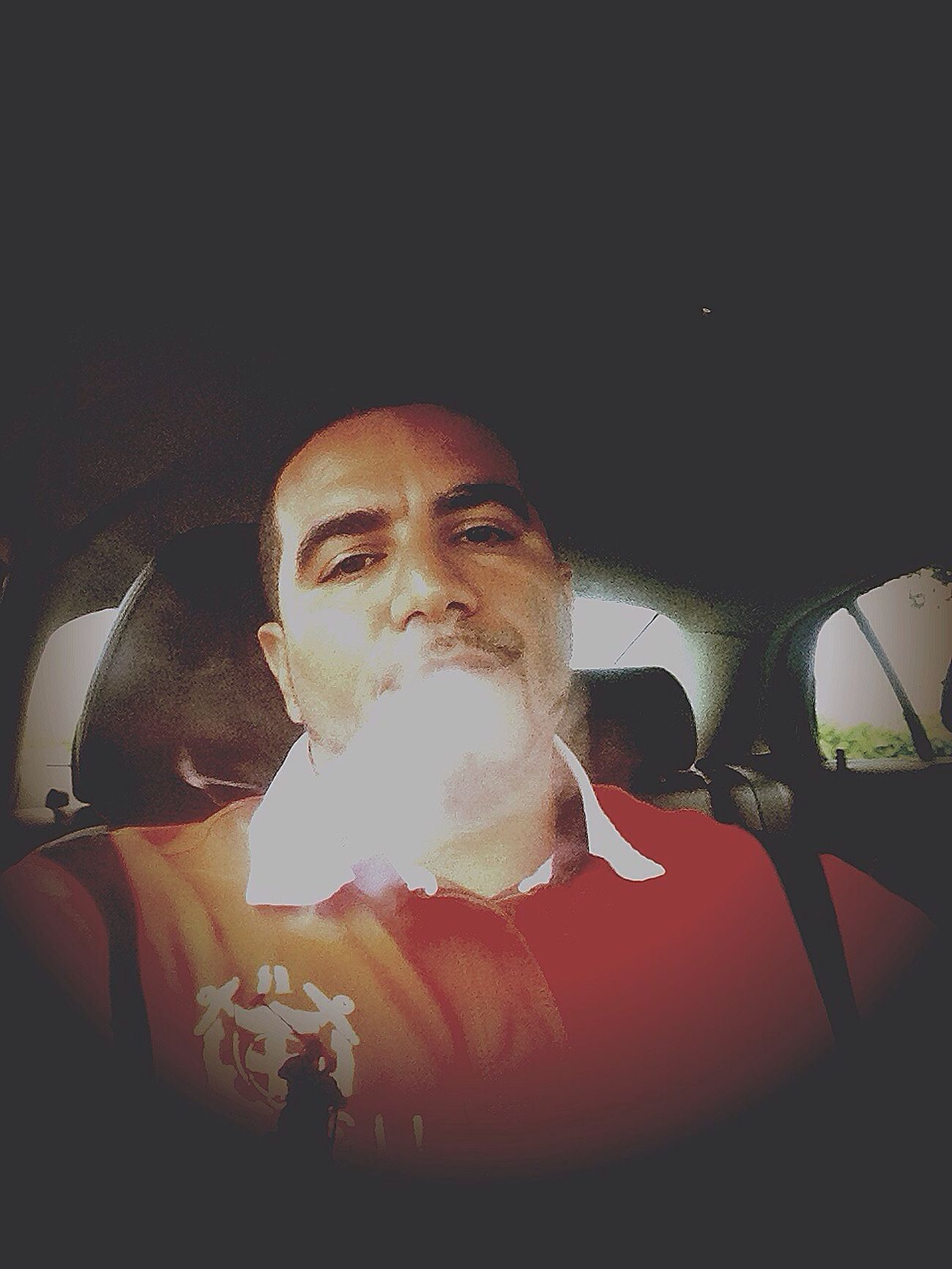 That's Me Grown Man Shit Chilling smoking!!!