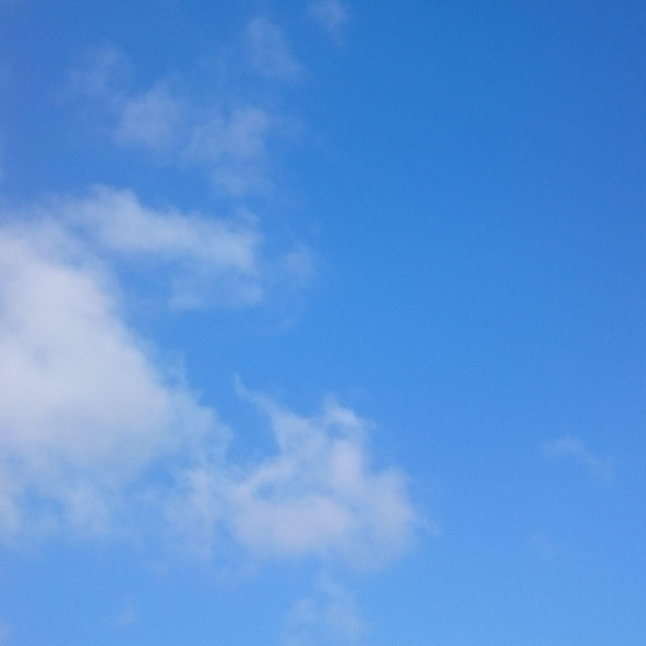 おはようございまーす 今日も 笑顔でいこーね 青空 あおぞら 美里