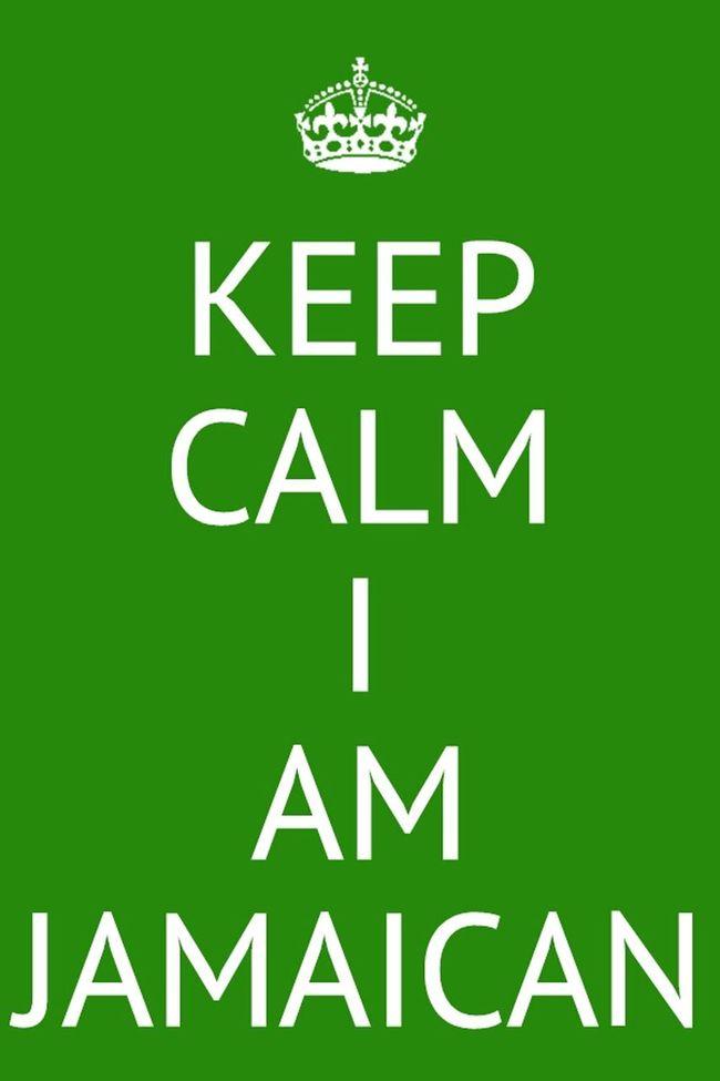 Jamaicans love #Jamaican #Love #KeepCalm