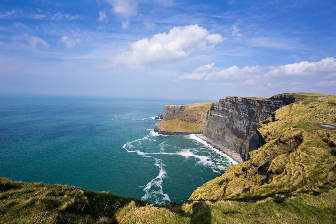 Beautiful stock photos of ireland, Beauty In Nature, Blue, Cliff, Cloud