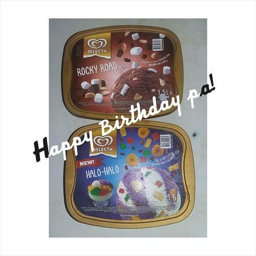 Happy Birthday papa toribs! Happy kaayo ko na ikaw akong papa, salamat sa tanan pa ! lav u 😊😊Nopicnipapa Icecreamanghanda hahaha