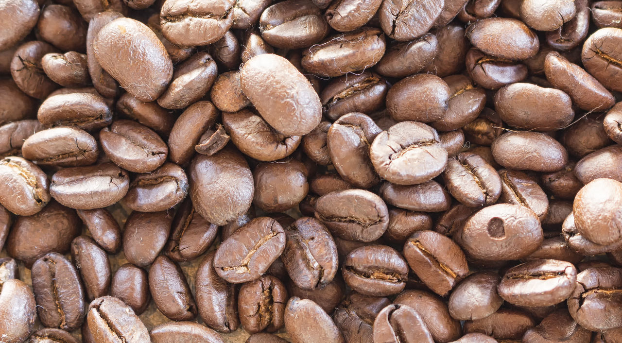 food and drink, brown, full frame, backgrounds, abundance, coffee - drink, large group of objects, no people, close-up, food, coffee bean, raw coffee bean, indoors, freshness, nature, healthy eating, day