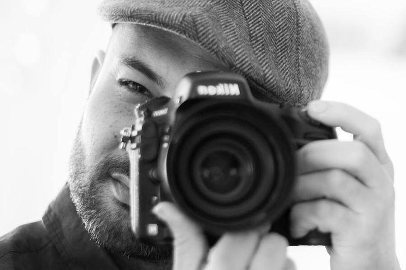 Portrait Selfie Black & White Black And White