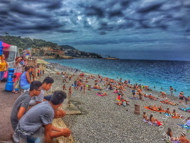 Sea Getting A Tan Sunshine Faces Of Summer Côte D'Azur Photooftheday Enjoying Life People Watching