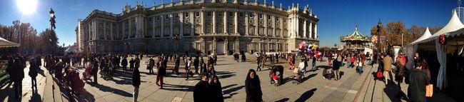 Palacio Real Panorama Arquitectura