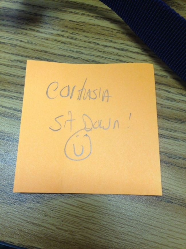 My Teacher Told Me I Had A Note From The Office & Gave Me This