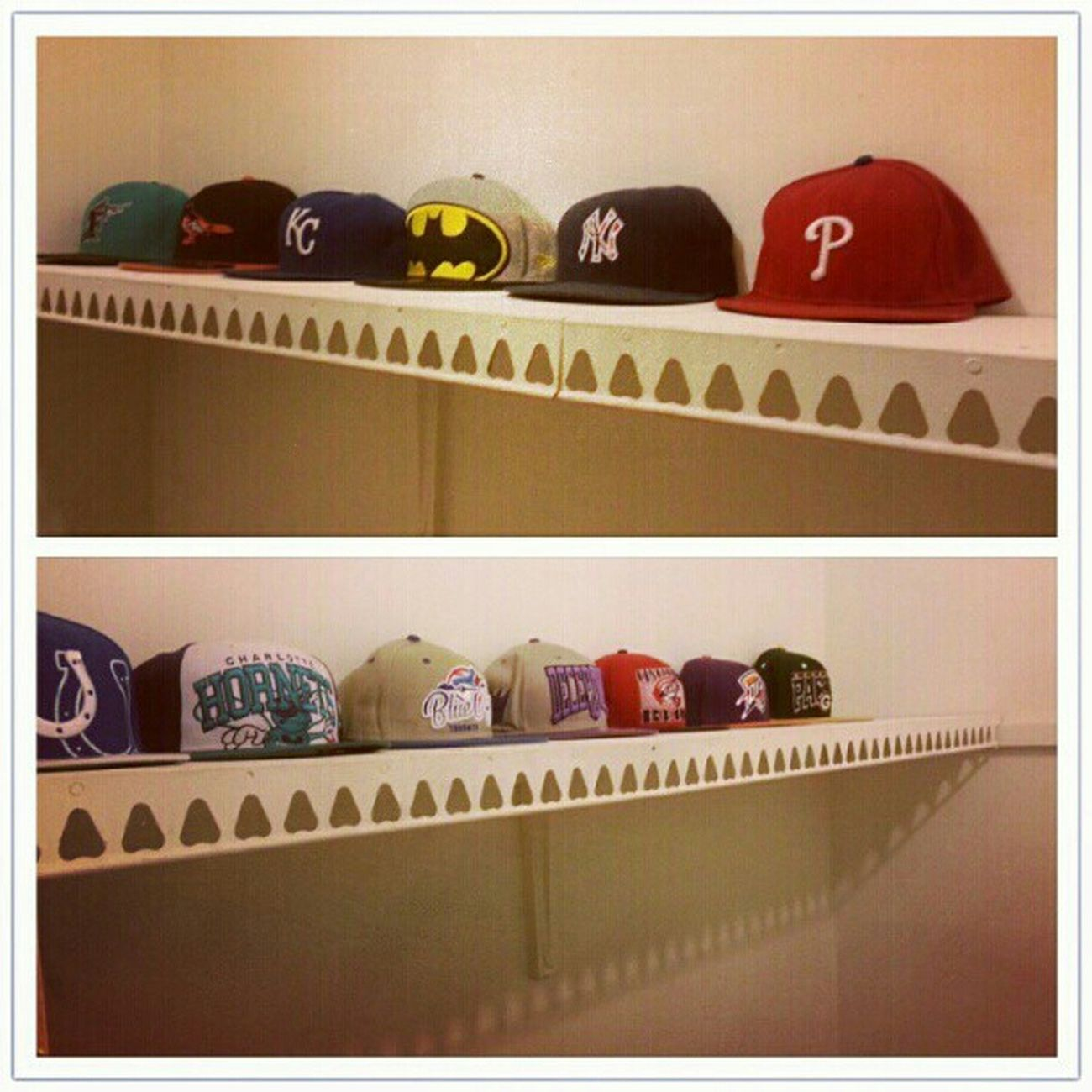 My Hat Shelf