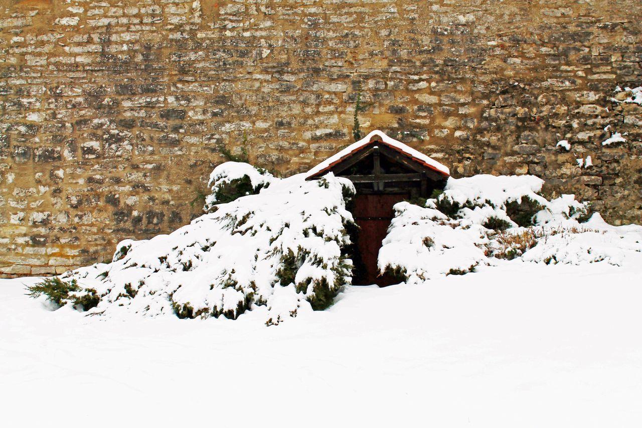 Berching Winter Schnee Eingeschneit Invierno Nieve Por La Nieve Snow Snowed In Stadtmauer City Wall
