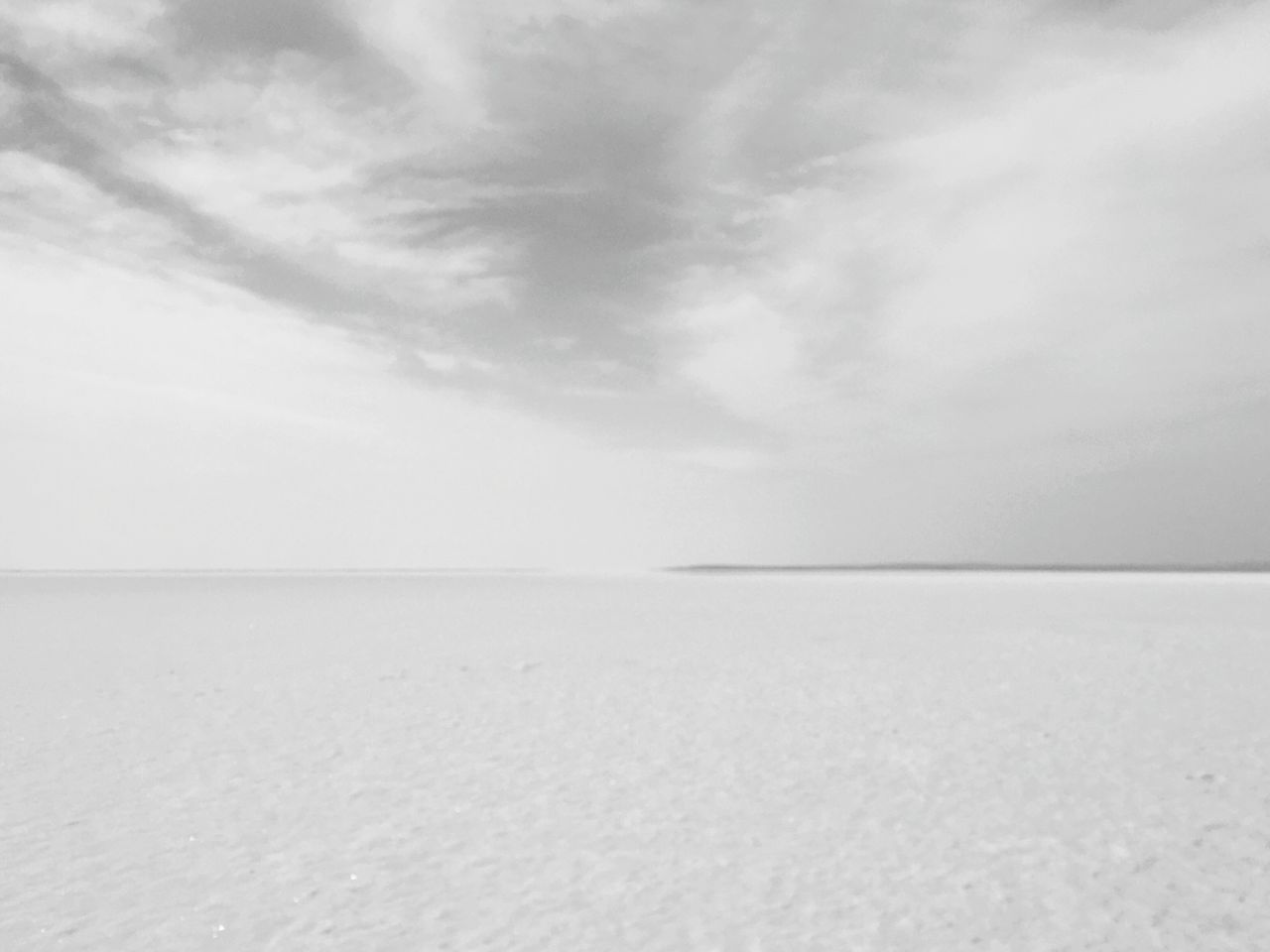 Adapted To The City Salt Lake Turkey Sky Horizon Over Land White Color No People Salt Flat Outdoors Beauty In Nature Saltwater