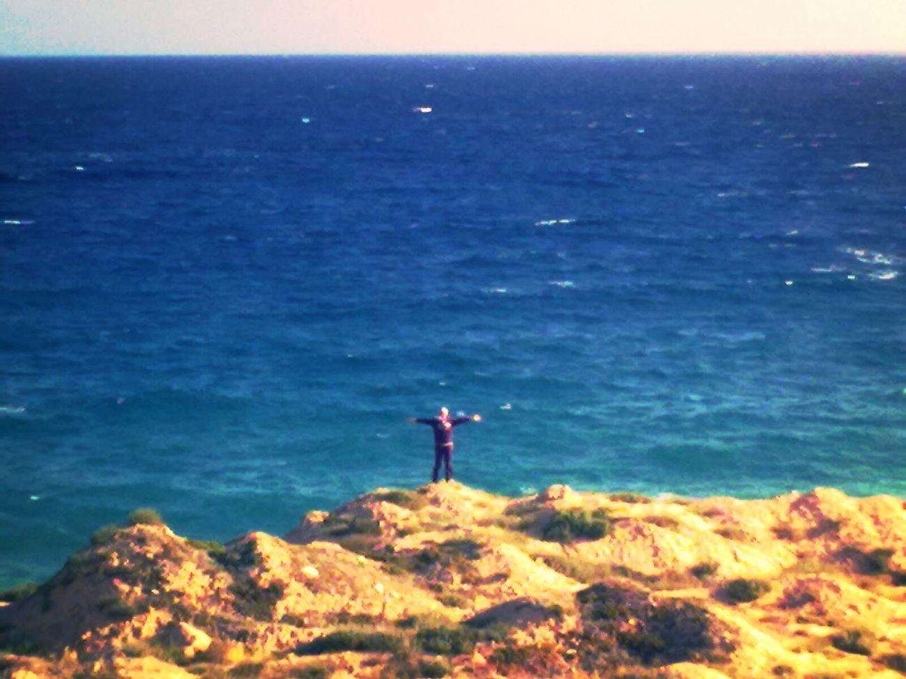 Me Having Fun Sea Azzawya #Libya