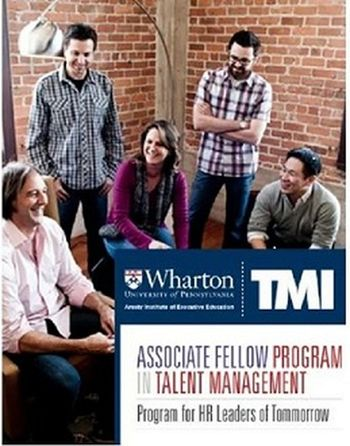 The Talent Management Institute (TMI) brings you the most powerful Associate Fellow Program in Talent Management which is equipped with important perspectives and insights to transform you into the world-class professional. Make the most of your future by choosing the fellow programme in management. https://www.tmi.org/tmi-wharton-programs/associate-fellow-program-in-talent-management Wharton HR Training Program Wharton HR Training Program Wharton HR Training Programs