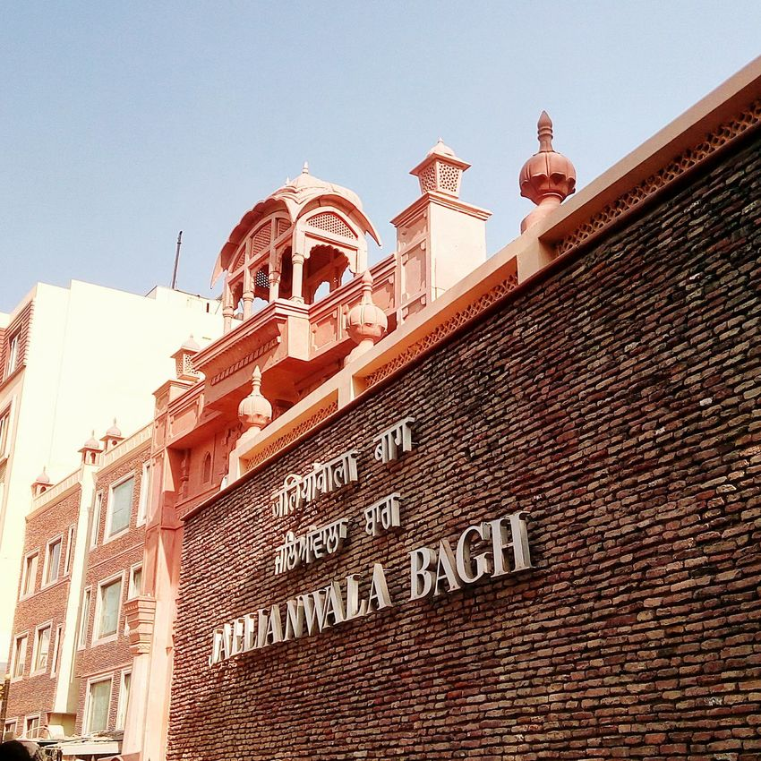 First Eyeem Photo JallianwalaBagh Amritsar, INDIA Historical Landmarks