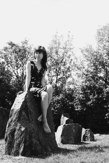Thats Me  Blackandwhite Black Stones Elves