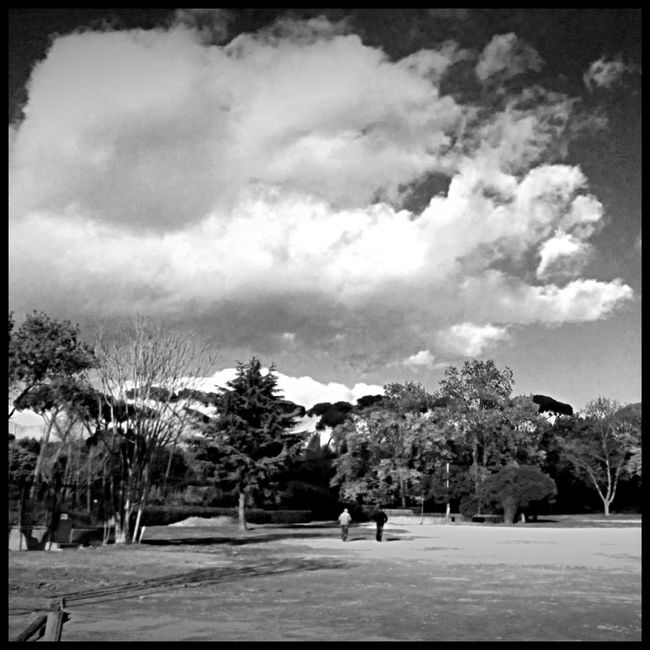 Atmospheric Mood Cloud Cloud - Sky Cloudscape Cloudy Cold Dramatic Sky Italy Moody Sky Outdoors Park Rome Scenics Silhouette Sky Sun The Way Forward Tranquility Villa Borghese Weather Winter