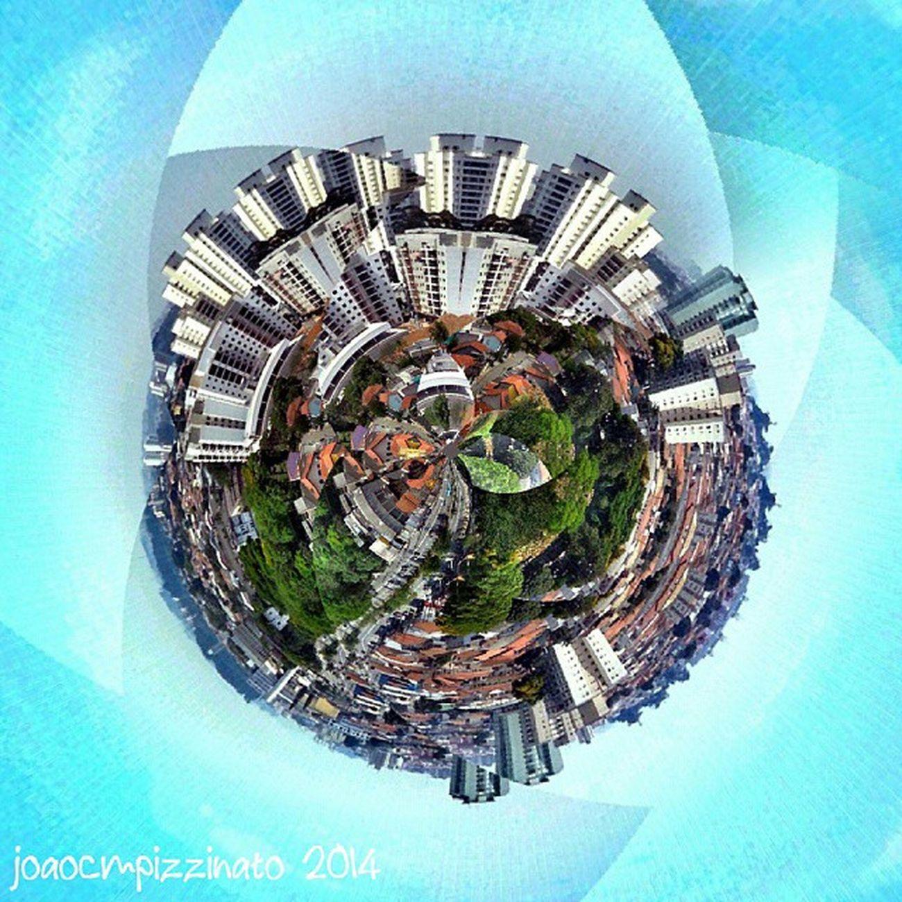 Planet. Tinyplanetfx Edited Effect Colors city zonasul saopaulo brasil photography
