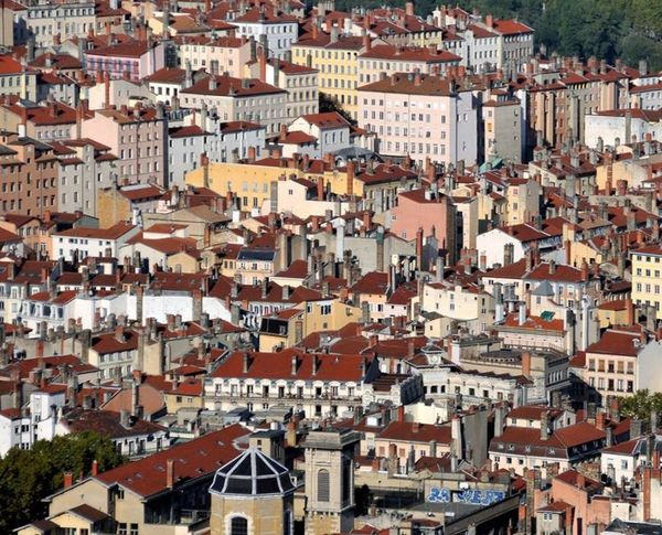 Croixrousse Old Town Lyon Roof Only Lyon Eyelyon