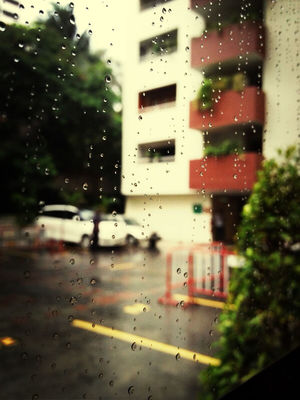 Rain at Prestige Tower Condominium by Divographer
