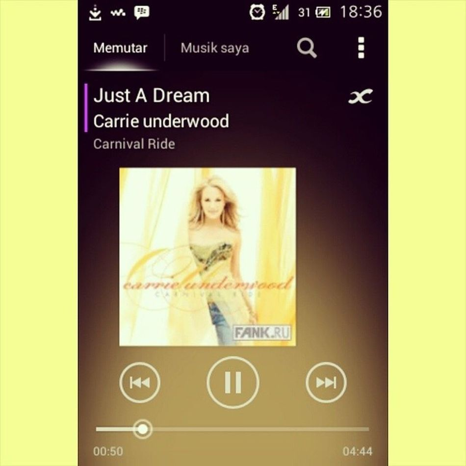 Baby why'd you leave me Why'd you have to go? I was counting on forever, now I'll never know I can't even breathe Justadream Carrieunderwood Lovethissong Music myfav carnivalride