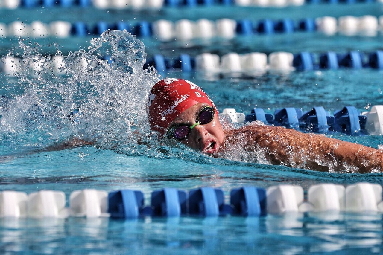 SFTL International classic. Day 3. 1500 free. Beast. Swimming Pool Water Swimming Cap Swimming Sport Competition Swimming Lane Marker Competitive Sport Exercising One Person Aquatic Sport Motion Athlete Men Sportsman Healthy Lifestyle Day Outdoors Adult Never Give Up