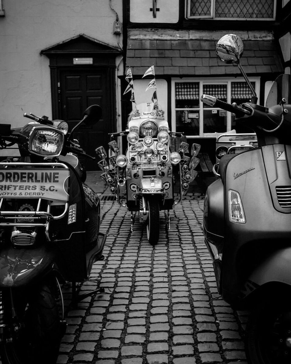 Street Transportation Mode Of Transport Scooter Lambretta Bnw Bnw_collection Monochrome Monochrome Photography Bnw_captures