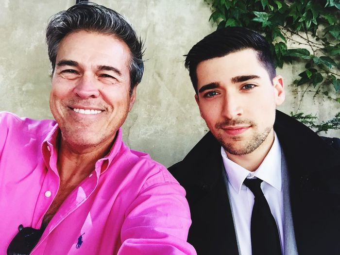 'me' Michael J Armijo and my handsome friend Ben near Place Des Vosges in France today May 30, 2015
