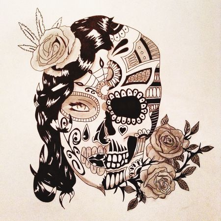 Format poster 👌😜 Idee Tattoo Mexico Crane Dessin Drawing